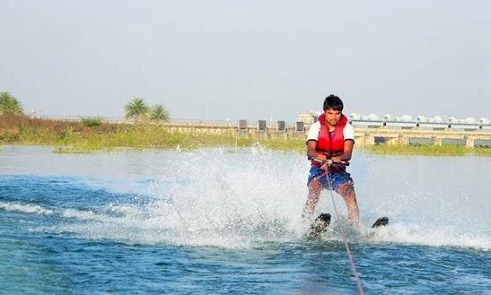 Enjoy Water Skiing In Dhamtari, India