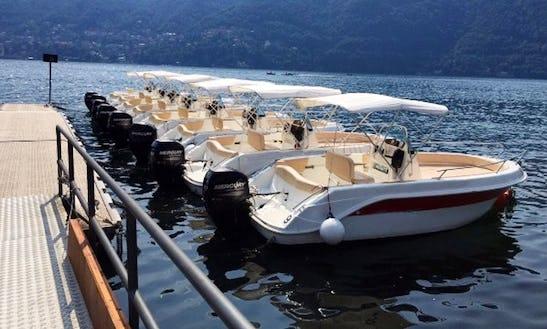 17' Bowrider Rental In Lombardia, Italy