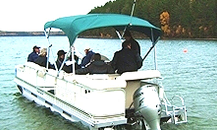 Pontoon Boat Rental on White Otter Lakes, Canada