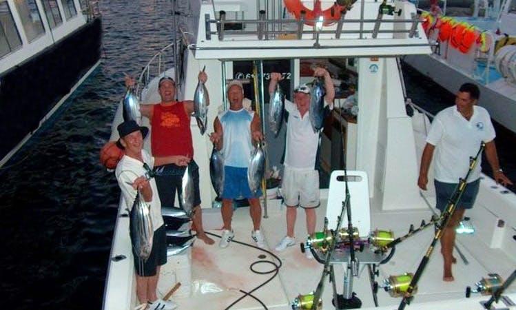 39' Sport Fishing Catamaran In Puerto Rico