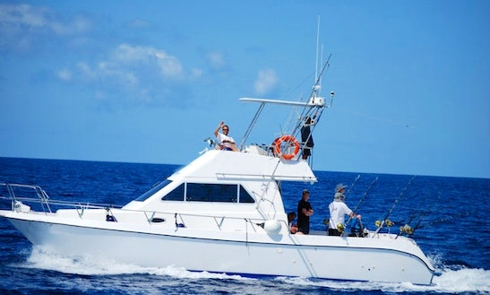 39' Sportfishing Yacht Charter In Spain