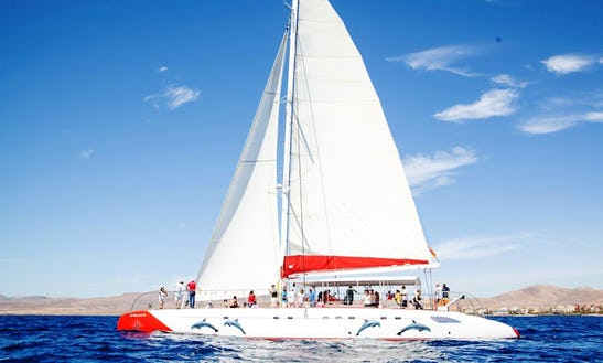 Charter Cruising Catamaran In Antigua, Canarias