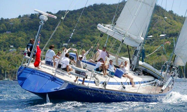 Swan 76 Luxury Sailing Yacht Charter in Spain