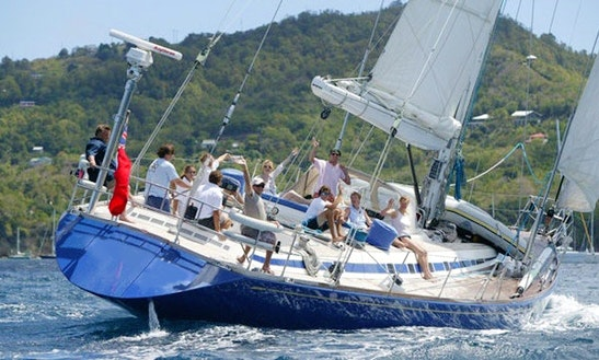 Swan 76 Luxury Sailing Yacht Charter In Spain