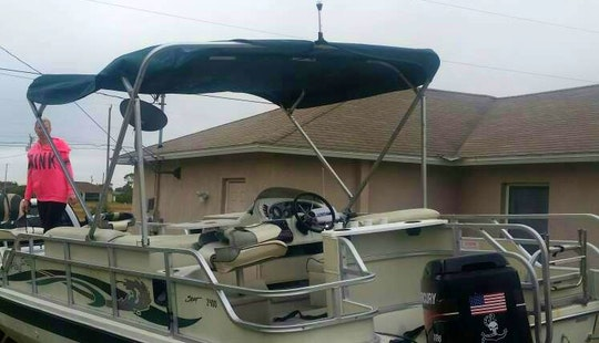 Deck Boat In Cape Coral