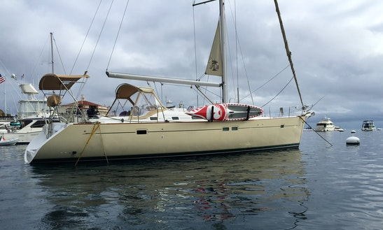 Captained Charter On The Beneteau 47 Sailing Yacht In Marina Del Rey, Ca