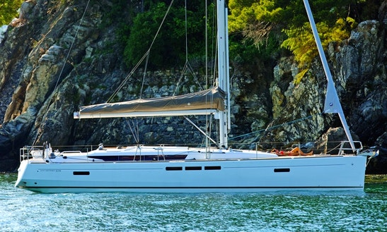 Captained Charter The Jenneau 519 Sailing Yacht In Marina Del Rey, Ca