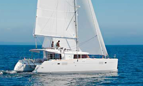 40' Lagoon 450 Cruising Catamaran Rental In Sant Antoni De Portmany, Spain