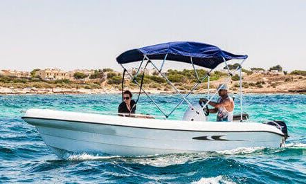 "Rent 16ft ""Andromeda"" Deck Boat In Palma Mallorca, Spain"