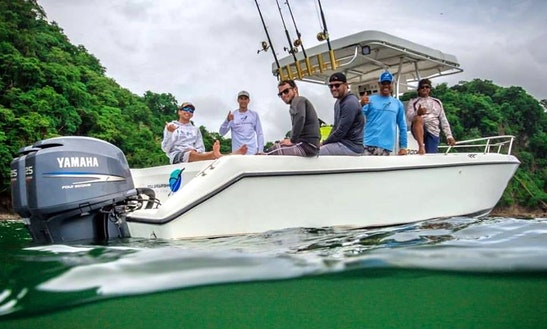 Spearfishing Charter On 32' Century 3000 Center Console In Playa Hermosa, Costa Rica