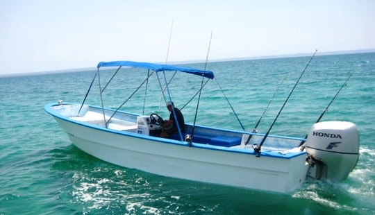 Center Console Fishing Charter In Baja California Sur, Mexico For 6 People