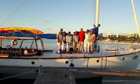 Take Relaxing Sailing On A Cruising Monohull In Oranjestad, Aruba