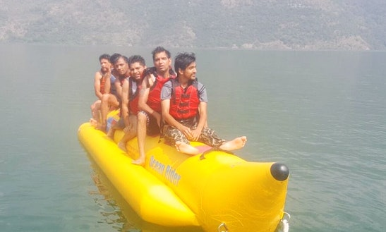 Enjoy Banana Boat Rides In Tehri, Uttarakhand