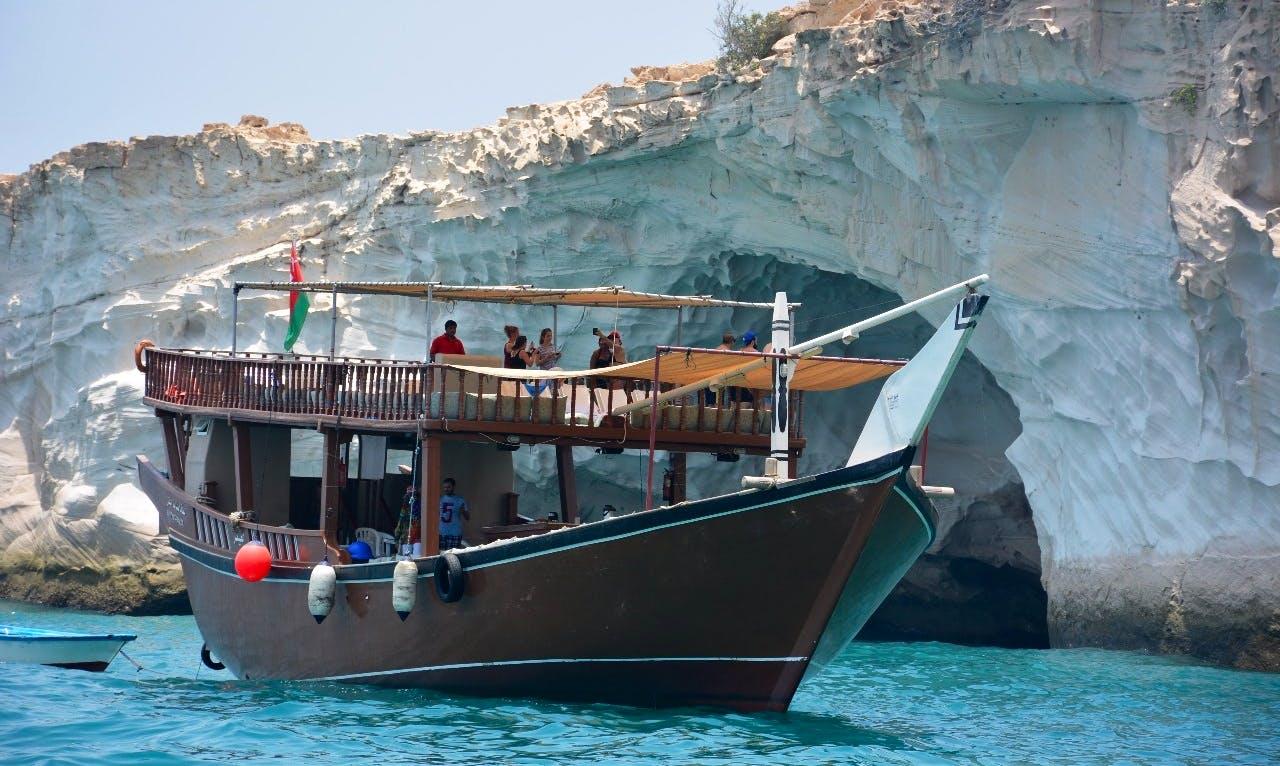 Charter a Passenger Boat in Al Khasab, Oman
