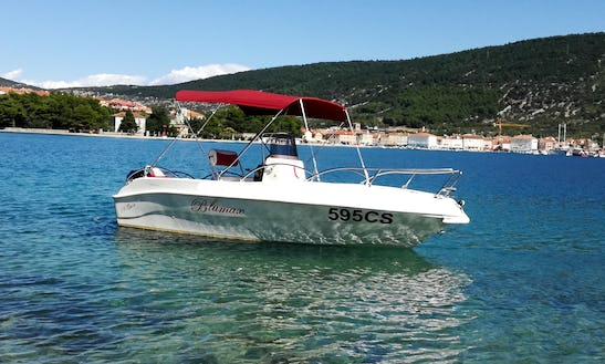 Enjoy The Beautiful Views Around The Island Of Cres By Boat!