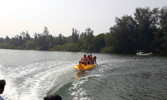 Enjoy Banana Boat Rides In Malvan, Maharashtra