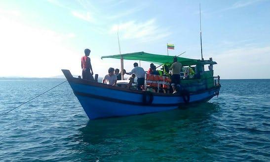 Charter A Passenger Boat In Pathein, Myanmar