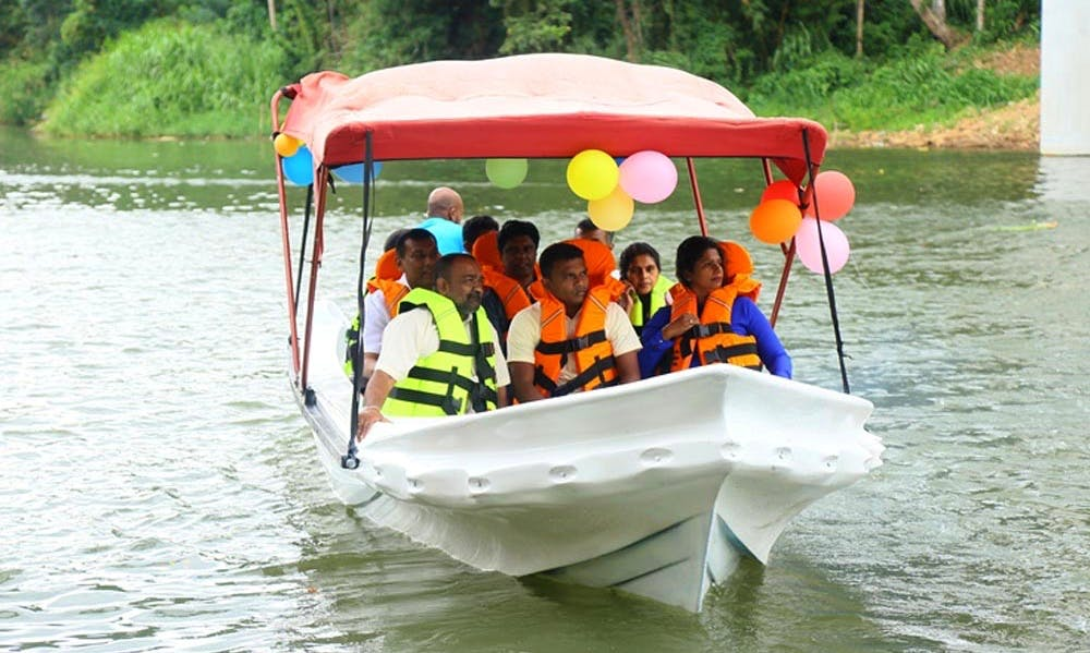 Boat Tours For Sightseeing in Halloluwa, Sri Lanka