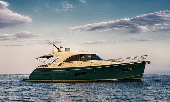 Charter 60' Abati Keyport Power Yacht In Portofino, Italy
