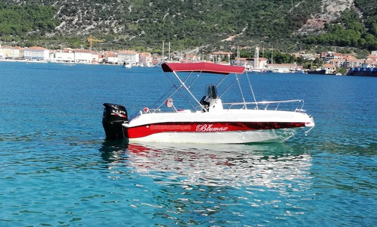 Center Console Rental Or Charter In Cres, Croatia