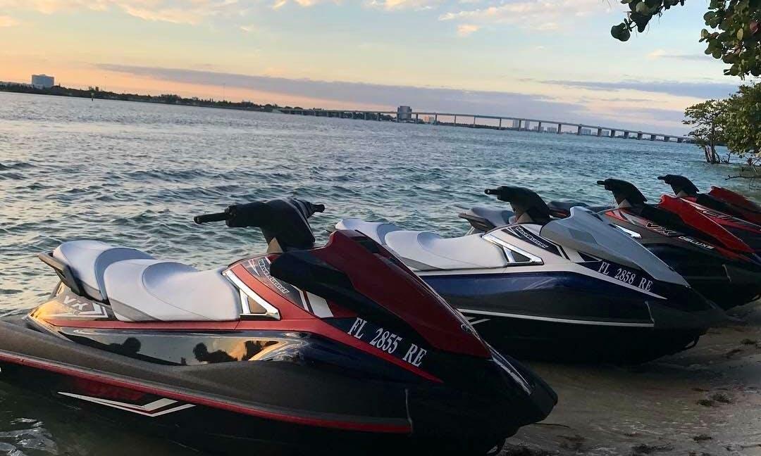 Jet Ski rentals / hour / half day / full day in North Miami