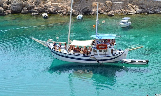 Charter A Gulet In Rodos, Greece