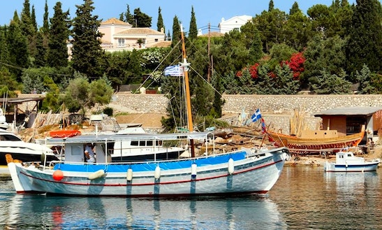 Charter A Schooner In Spetses, Greece