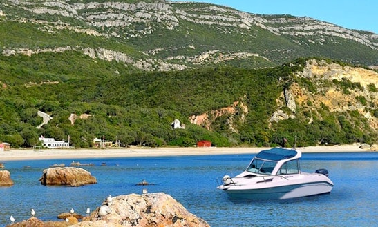 Discover Setubal On San Remo 565 Powerboat