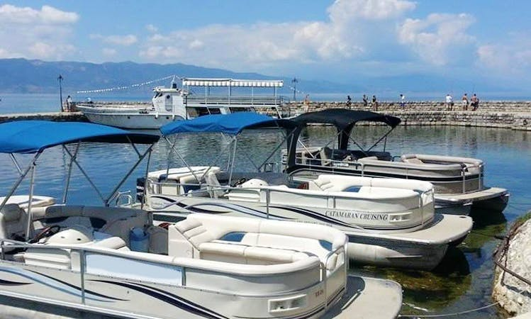 Pontoons Rental in Ohrid