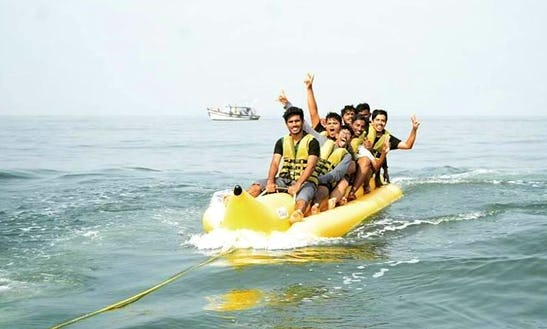 Enjoy Banana Boat Rides In Mangaluru, Karnataka