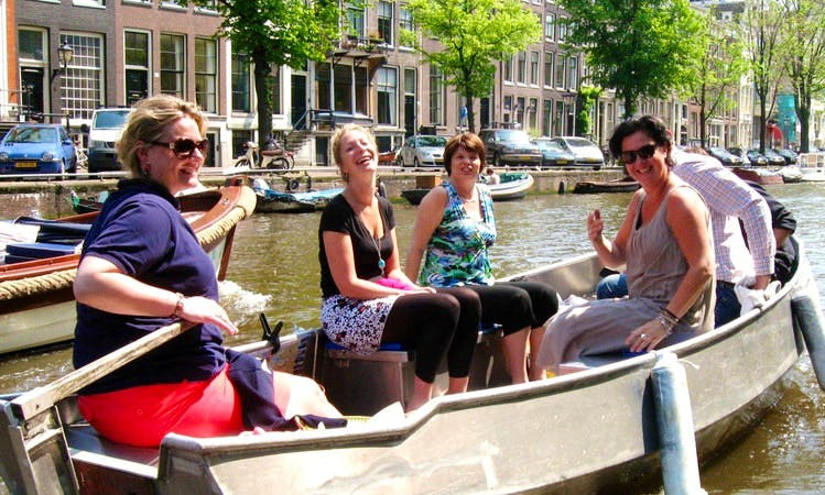 Rent a Boat on the Amsterdam Canals