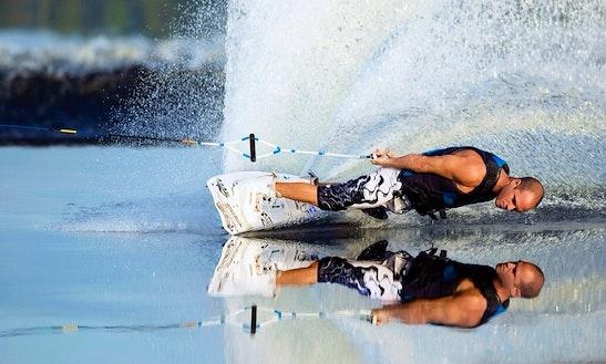 Enjoy Wakeboarding In Illetes, Spain