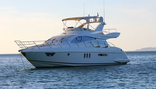 55' Azimut  Motor Yacht Charter In Cabo San Lucas
