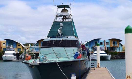 Enjoy Fishing in West Rockhampton, Australia on 60' Pedro ll Sport Fisherman