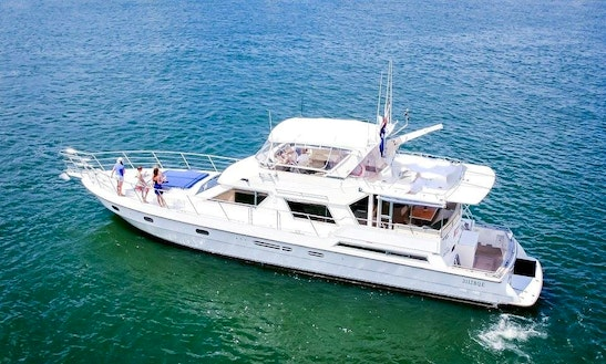 Charter 62' Mv Bacchus Power Mega Yacht In Main Beach, Australia