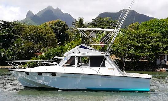 Enjoy Fishing In Trou D'eau Douce, Mauritius On A Cuddy Cabin