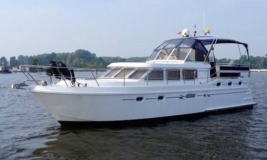 Explore Flevoland, Netherlands On 41' Motor Yacht