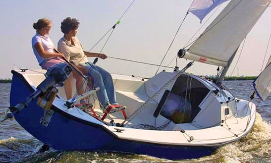 Rent 21' Tirion Daysailer In Woudsend, Netherlands