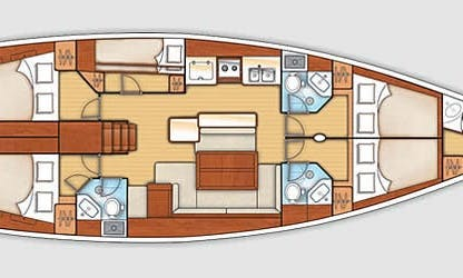 Cruising Monohull Beneteau Oceanis 50F rental in Corfu