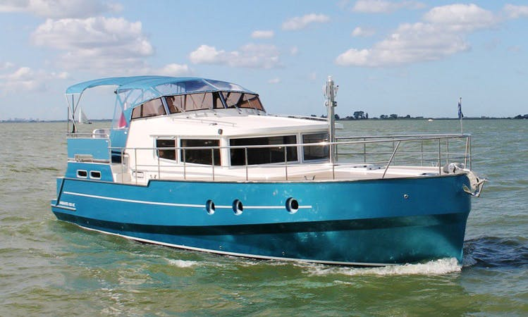 See Sneek, Netherlands on 43' Motor Yacht