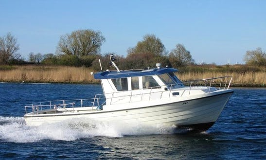 Rent The 28' Ms Lino Motorboat In Fehmarn