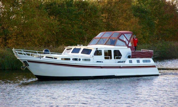 Enjoy Friesland, Netherlands on 49' Johanna Motor Yacht