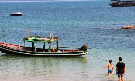 Amazing Traditional Boat For 10 People In Yangon, Myanmar