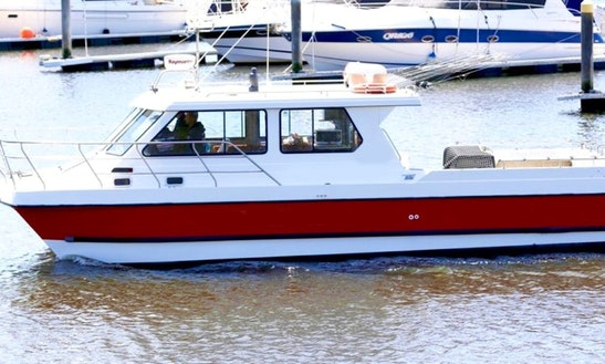 Enjoy Fishing In Victoria, Australia On Tidal Princess Power Catamaran