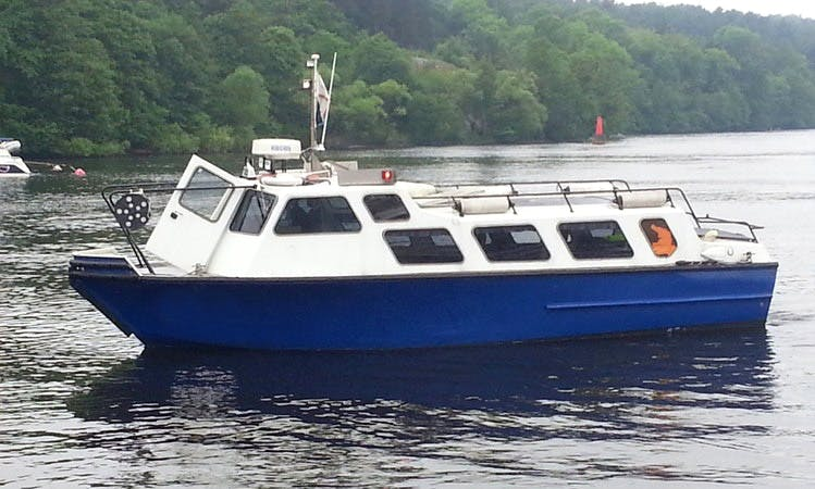 Charter M/S Vidar Taxi Boat in Stockholm
