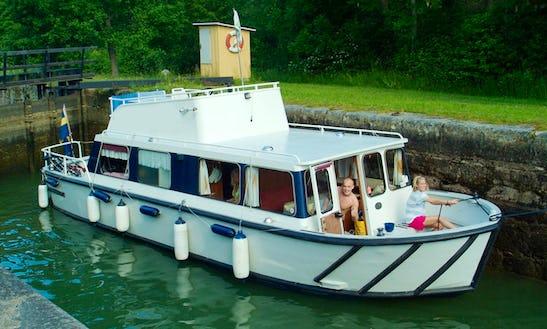 Explore Östergötland, Sweden On This 32' Regina Von Platen Motor Yacht