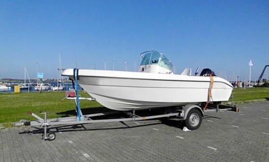 Hanne7 50hp Boat Rental In Fehmarn