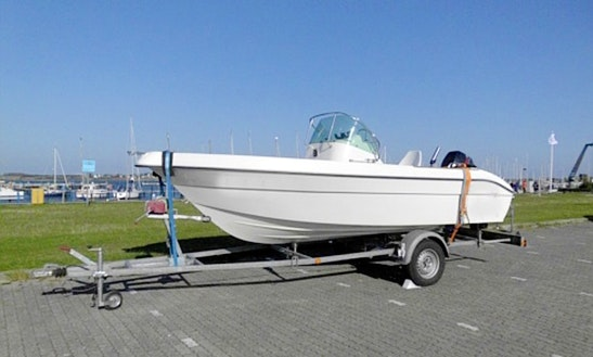 Hanne7 50hp Boat Rental In Fehmarn