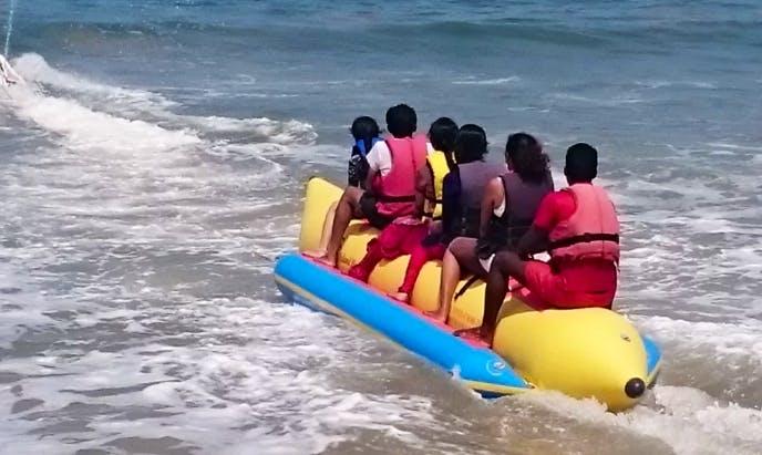Enjoy Tubing in Tarkarli, Maharashtra