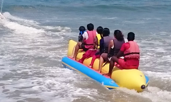 Enjoy Tubing In Tarkarli, Maharashtra